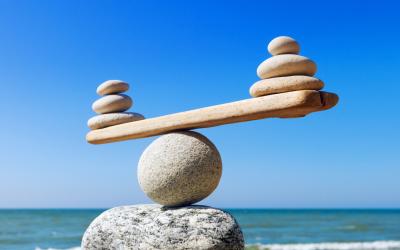 Three steps towards business balance