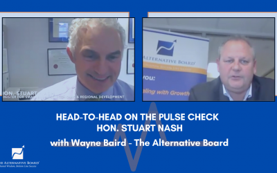 Head to Head with Hon. Stuart Nash – Pulse Check findings inform Government Policy
